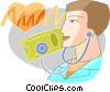 Vector Clipart illustration  of a Doctors