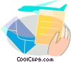 Vector Clip Art picture  of a Tickets