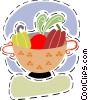 Fruit bowl Vector Clip Art image