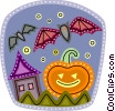 Vector Clipart picture  of a Pumpkins