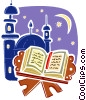 Vector Clipart picture  of a Bible