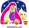 India Vector Clipart picture
