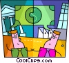 Vector Clip Art picture  of a Financial concept
