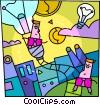Vector Clip Art picture  of a Idea concept