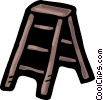 Step Ladder Vector Clip Art picture