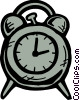 Alarm clock Vector Clip Art graphic