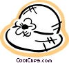 Vector Clipart image  of a Summer hat
