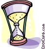 Vector Clip Art image  of a Hourglasses