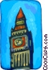Big Ben London Vector Clip Art picture