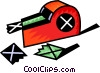 Vector Clip Art graphic  of an Adhesive tape