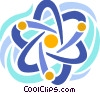 Vector Clip Art picture  of a Nuclear energy symbol