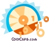 CD-ROM Media Vector Clip Art graphic