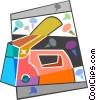 Staple gun Vector Clip Art picture