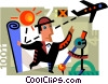 Vector Clip Art graphic  of an Architects and Designers