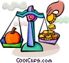 Vector Clipart image  of a Scales