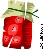 Vector Clipart graphic  of a Strawberry jam