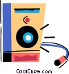 Stereo speaker Vector Clipart picture