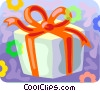 Christmas gift Vector Clipart picture
