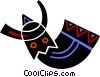 African mask Vector Clipart illustration