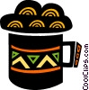 Mug of cold beer Vector Clip Art graphic