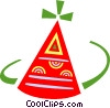 Party hat Vector Clip Art picture