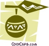 Vector Clipart illustration  of a Ornaments Decorations