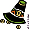 Vector Clip Art graphic  of a Pioneer's hat