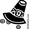 Vector Clip Art image  of a Pioneer's hat
