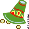 Vector Clipart picture  of a Pioneer's hat