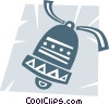 Vector Clipart graphic  of a Christmas Bells