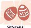 Vector Clipart picture  of a Easter Eggs