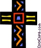 Vector Clipart picture  of a The Cross
