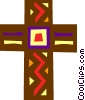 Vector Clipart graphic  of a The Cross