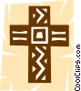 Vector Clip Art image  of a The Cross