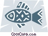 Vector Clip Art picture  of a Miscellaneous Fish