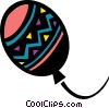 Colorful balloon Vector Clip Art image