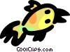 Vector Clip Art picture  of a Baby bird