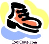 Vector Clipart picture  of a Work boot