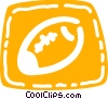 American football Vector Clip Art picture