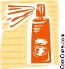 Aerosol cleaner Vector Clip Art graphic