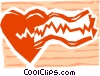 Vector Clipart picture  of a Electro cardio gram