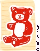 Teddy bear Vector Clipart picture