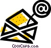 Vector Clipart image  of a E-mail concept