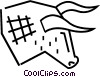 Vector Clip Art image  of a Stock market Bull symbol