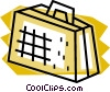 Vector Clip Art image  of an Attach� case