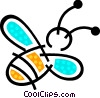 Vector Clipart picture  of a Bumble bee
