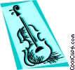 Violins and Fiddles Vector Clip Art picture