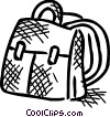 School knapsack Vector Clip Art picture