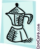 Coffee maker Vector Clipart picture
