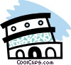 Roman Coliseum Vector Clipart picture